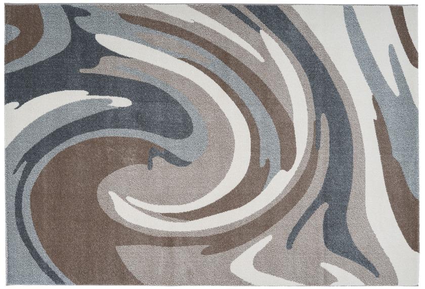 Arte Espina Teppich Broadway 100 Braun / Grau