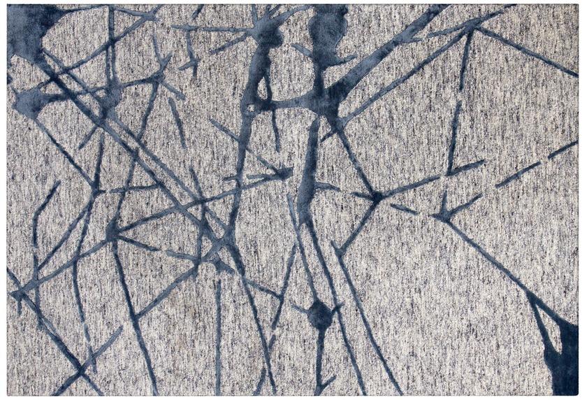Arte Espina Teppich Damast 200 Grau