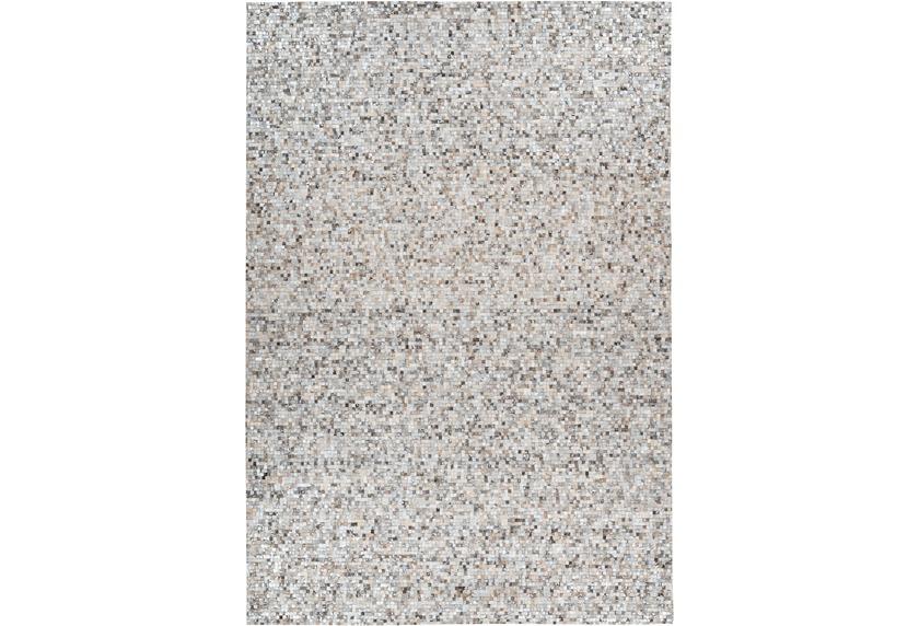 Arte Espina Teppich Finish 100 Grau / Silber