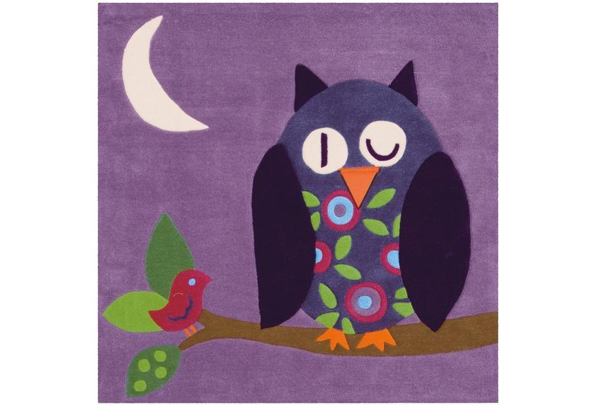 Arte Espina Teppich Joy 4049 Violett 130 x 130 ECKIG