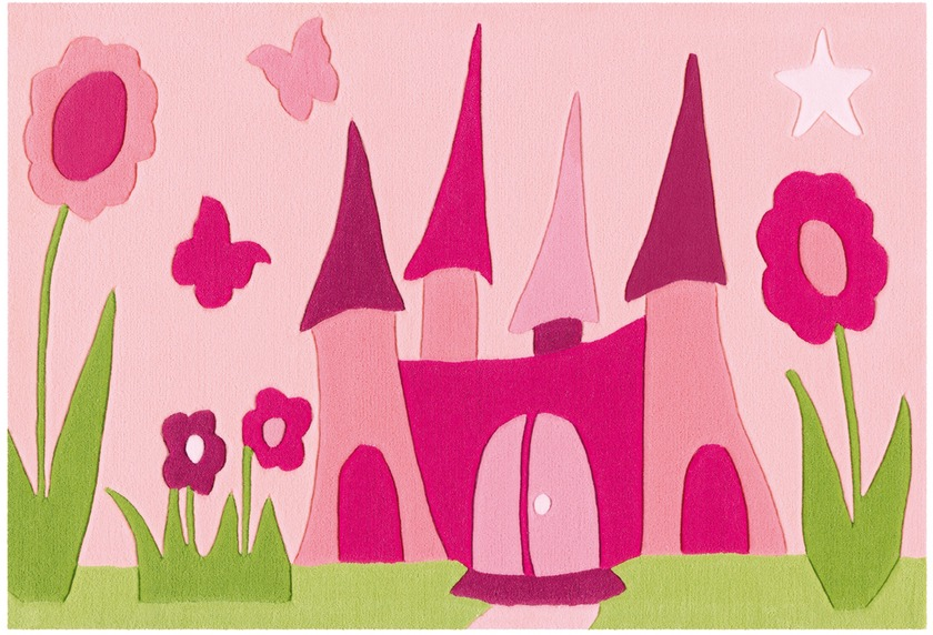 Arte Espina Teppich Joy 4191 Pink 90 x 150 cm