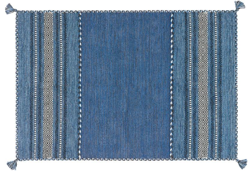 Arte Espina Handwebteppich Navarro 2915 Blau