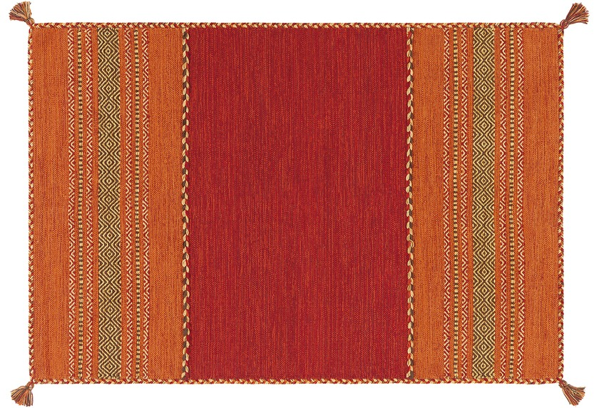 Arte Espina Handwebteppich Navarro 2920 Rot