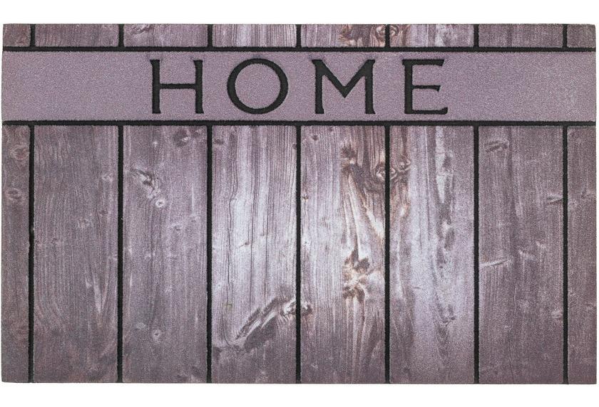 Astra Fussmatte Eco Fashion Holz Home grau 45x75