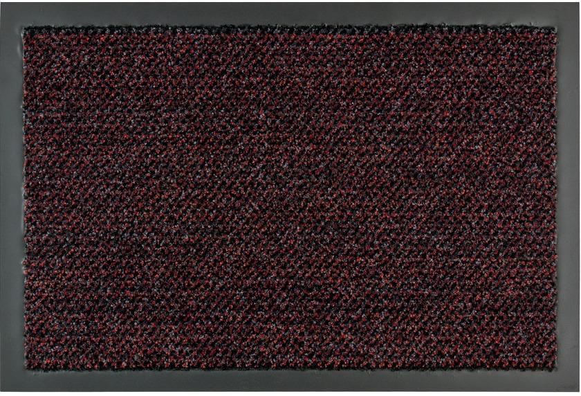 Astra Fussmatte Graphit rot