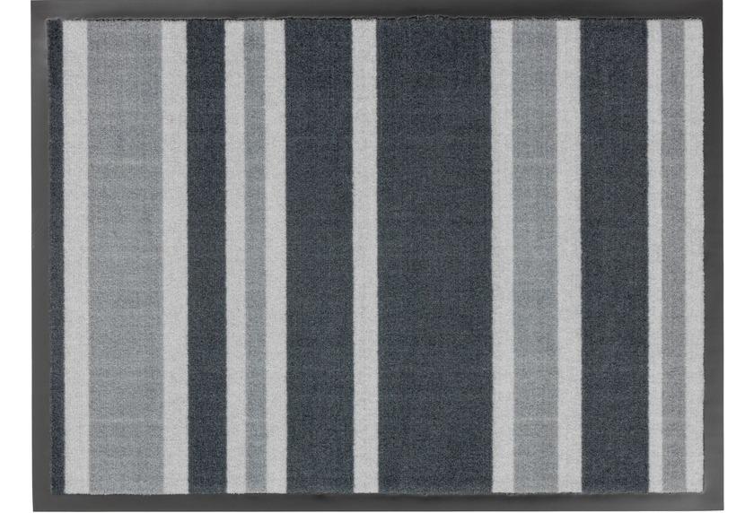 Astra Fussmatte Homelike Streifen grau 50x70