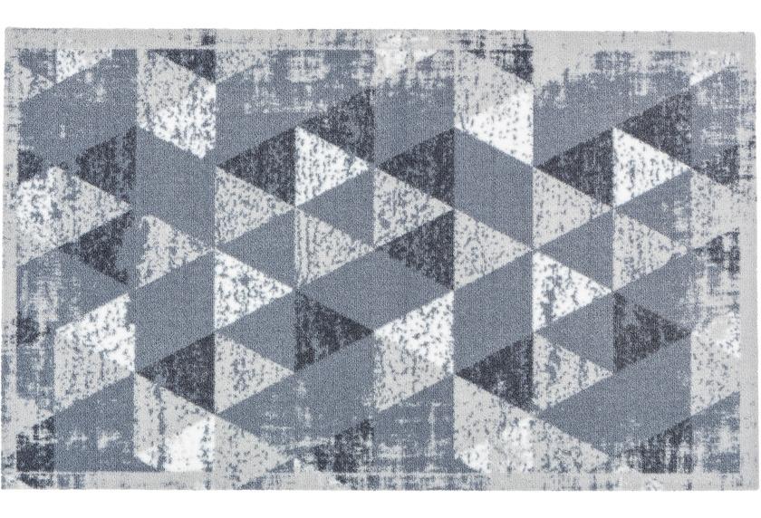 Astra Miabella Design 716, Colour 042 Dreiecke hellgrau 50 x 150 cm