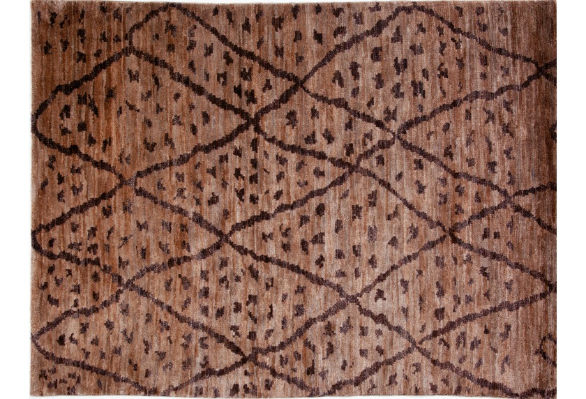 Brigitte Home Teppich Global Passion 303 braun handgeknüpft