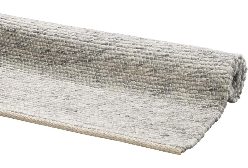 DEKOWE Handwebteppich Amodian grau