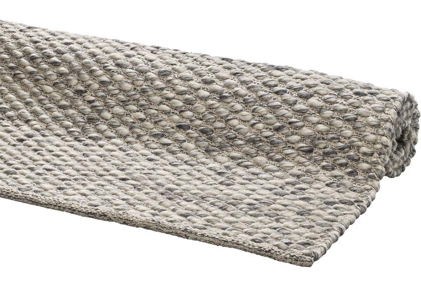 DEKOWE Handwebteppich Ilda grau