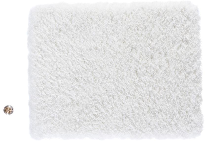 DEKOWE Teppich Samtino 001 weiss Wunschmaß