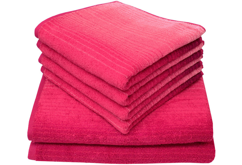 Dyckhoff Frottierserie Colori pink