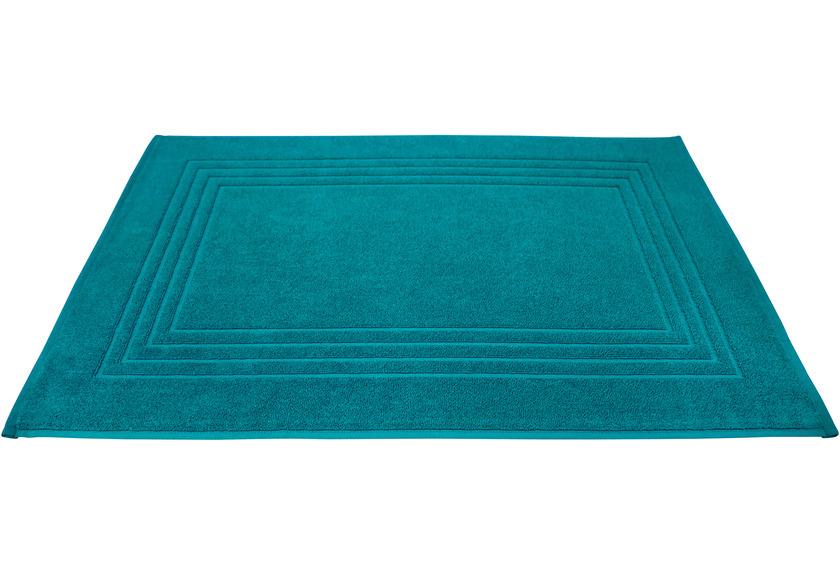 Dyckhoff Frottier-Badvorleger Siena smaragd 50 x 75 cm, 3 Stück