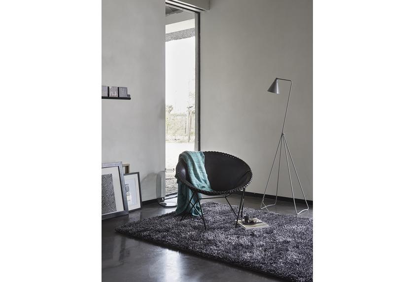 bilder esprit hochflor teppich new glamour esp 3303 12 grau. Black Bedroom Furniture Sets. Home Design Ideas