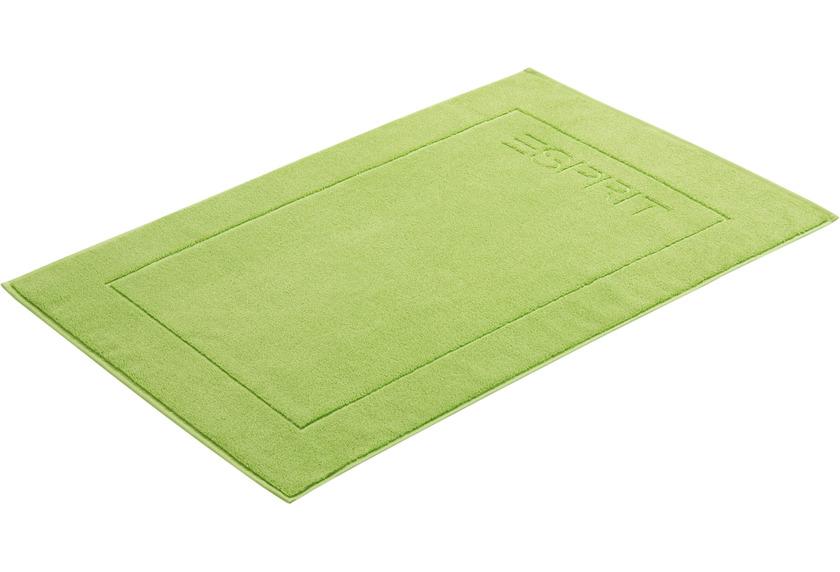 """ESPRIT Badeteppich \""""Solid\"""" apple green 60 x 90 cm"""