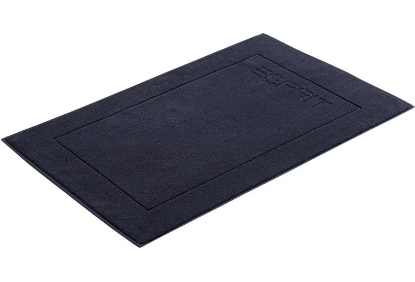 """ESPRIT Badeteppich \""""Solid\"""" navy blue 60 x 90 cm"""