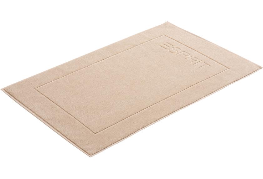 """ESPRIT Badeteppich \""""Solid\"""" sand 60 x 90 cm"""