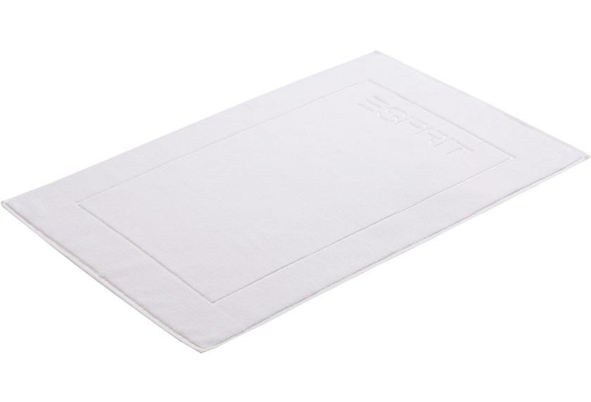 """ESPRIT Badeteppich \""""Solid\"""" white 60 x 90 cm"""