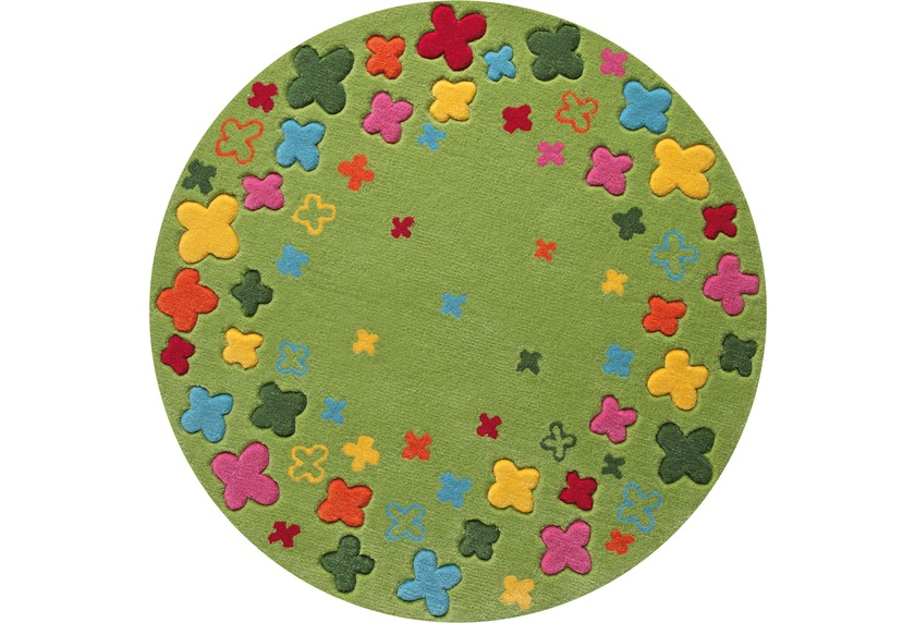 ESPRIT Kinderteppich, Bloom Field ESP-2980-02 grün, Öko-Tex 100 zertifiziert