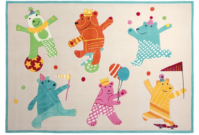 ESPRIT Kinderteppich Dancing Bears ESP-3818-02