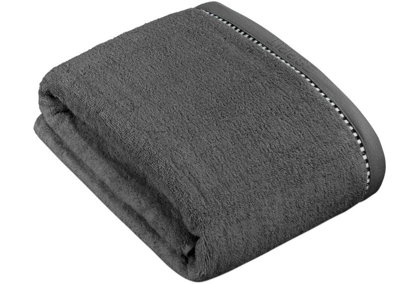 """ESPRIT Frottierserie \""""Box Solid\"""" anthracite"""
