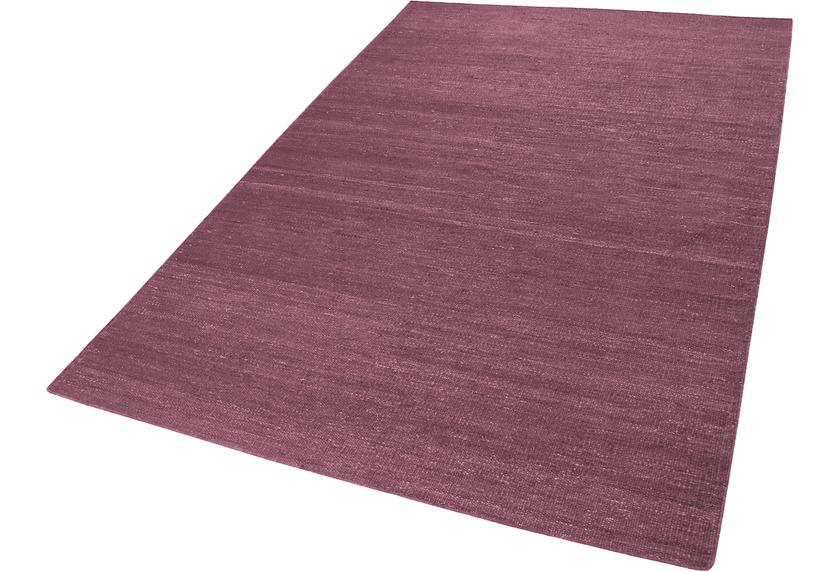 ESPRIT Handweb-Teppich Rainbow Kelim ESP-7708-03 Fliederrot 200x290