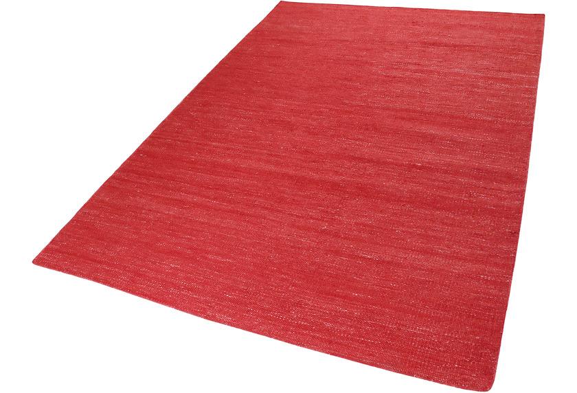 ESPRIT Handweb-Teppich Rainbow Kelim ESP-7708-07 rot 200x290
