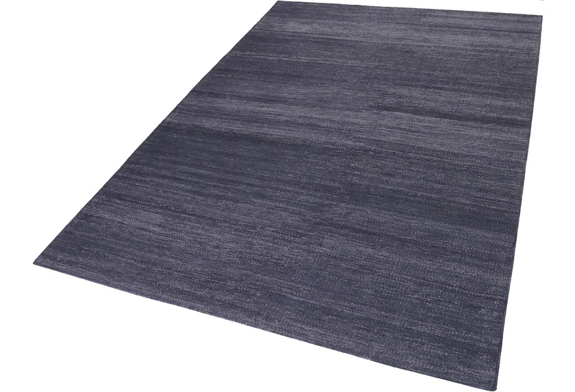 ESPRIT Handweb-Teppich Rainbow Kelim ESP-7708-12 dunkelblau 200x290