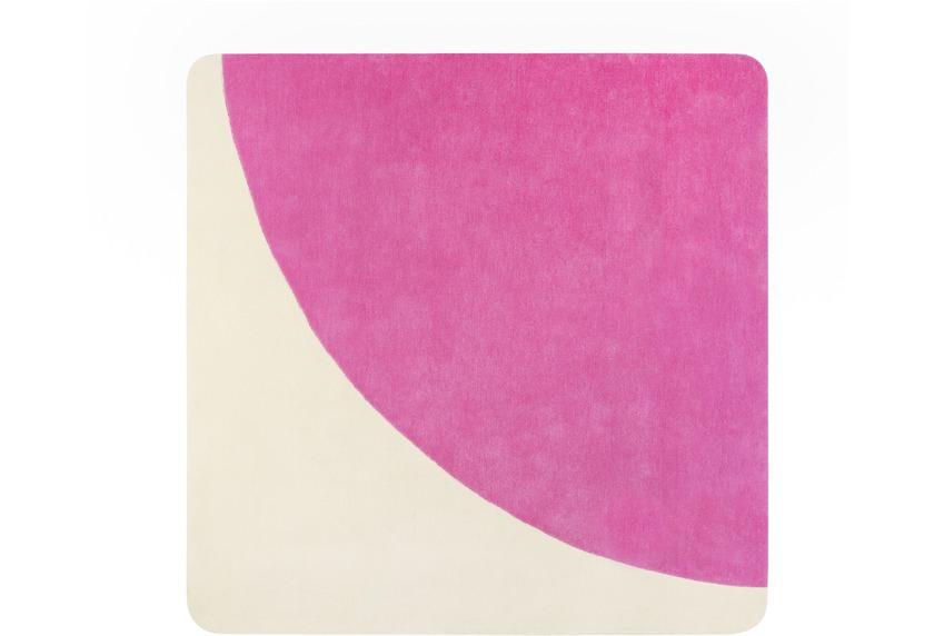 ESPRIT Kurzflor-Teppich Corro ESP-4307-04 pink