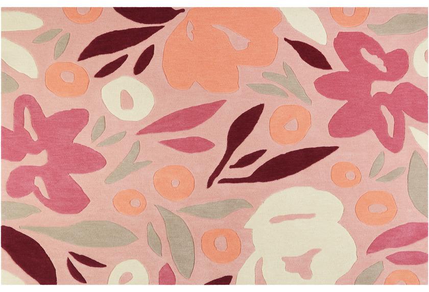 ESPRIT Kurzflor-Teppich Flower Capsul ESP-4321-01 rosa