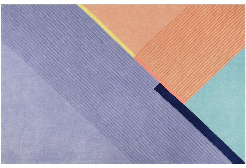 ESPRIT Kurzflor-Teppich XAZ ESP-4305-01 blau