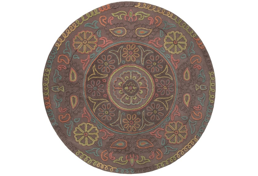 ESPRIT Teppich, Mandala ESP-3405-03 taupe