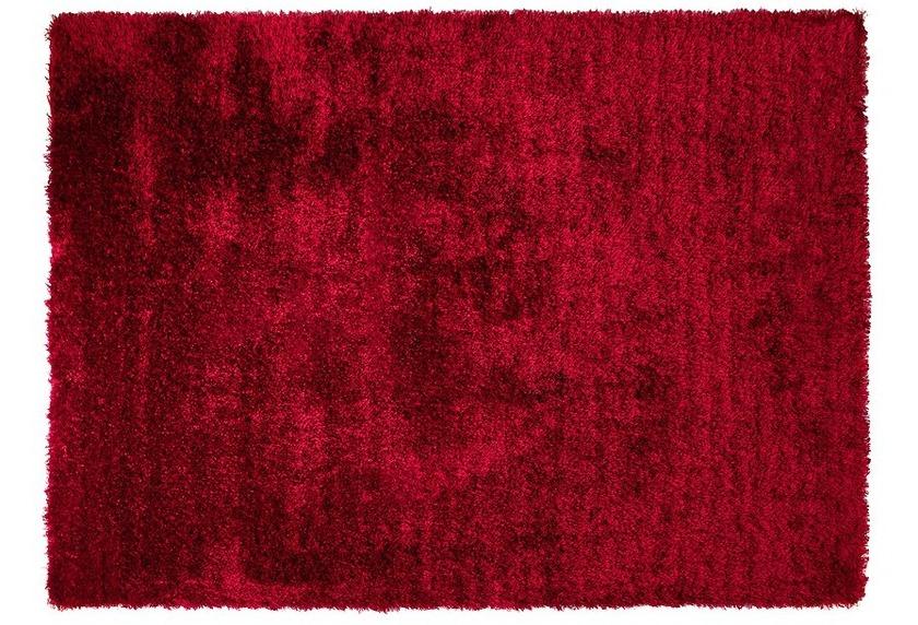 ESPRIT Hochflor-Teppich, New Glamour, ESP-3303-15, rot