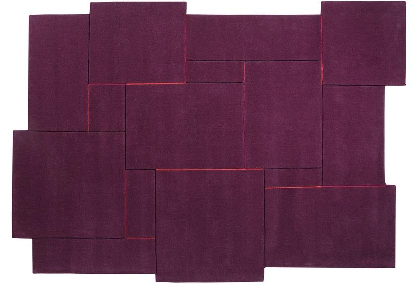 esprit teppich puzzle esp 3119 03 flieder lila angebote. Black Bedroom Furniture Sets. Home Design Ideas