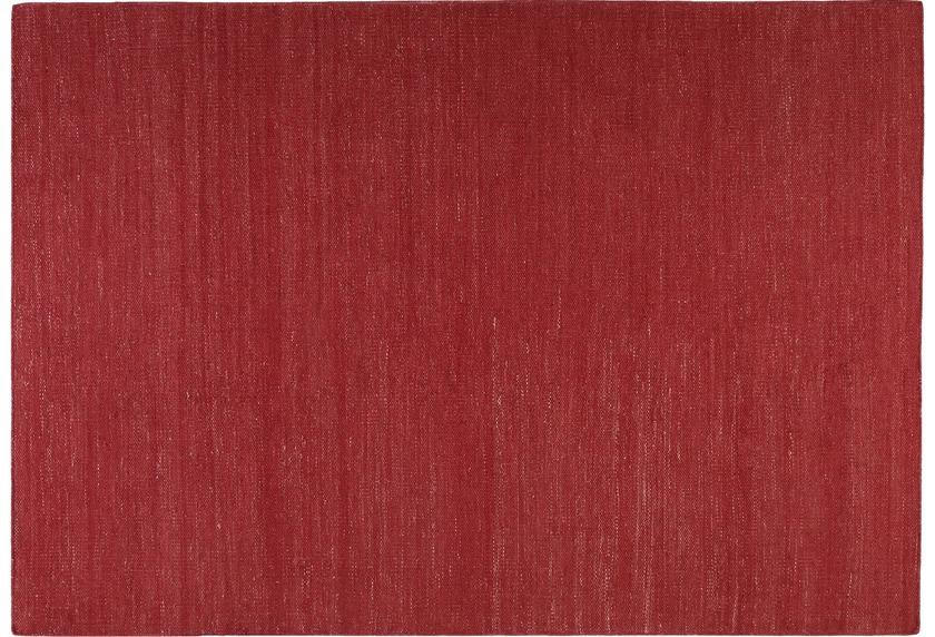 ESPRIT Handwebteppich Rainbow Kelim ESP-7708-07 rot