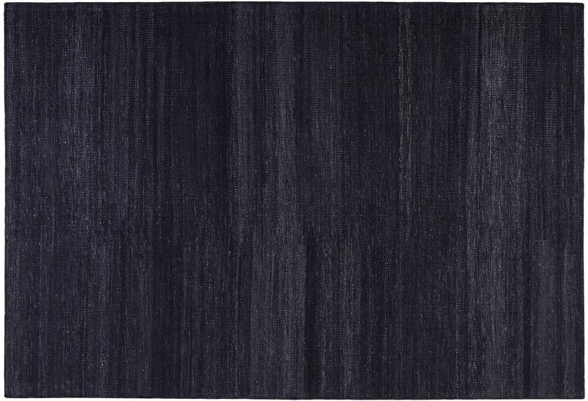 ESPRIT Handwebteppich Rainbow Kelim ESP-7708-12 schwarz