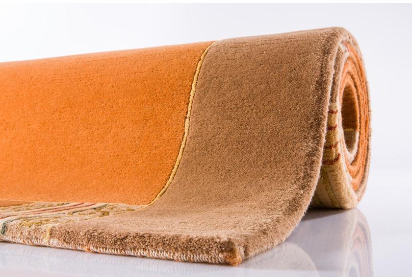 ghorka excl nepal teppich 403 caramel teppich nepalteppich bei tepgo kaufen versandkostenfrei. Black Bedroom Furniture Sets. Home Design Ideas