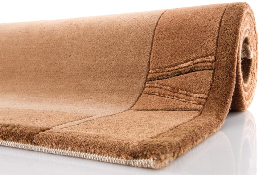 ghorka excl nepal teppich 170 hellbraun teppich nepalteppich bei tepgo kaufen versandkostenfrei. Black Bedroom Furniture Sets. Home Design Ideas