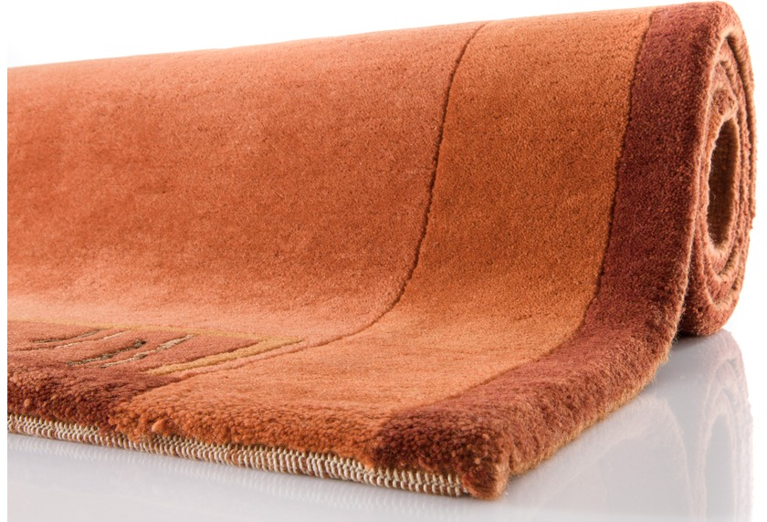 nepal teppich ghorka exclusive terra 318 aus neuseeland wolle 13 mm gesamth he teppich. Black Bedroom Furniture Sets. Home Design Ideas