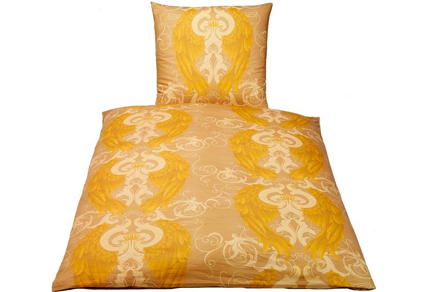 gl ckler by kbt bettw sche engel gold wohnaccessoires. Black Bedroom Furniture Sets. Home Design Ideas
