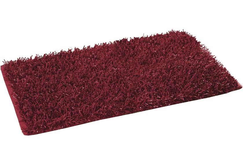Gözze Allzweckteppich Shaggy Farbe rot