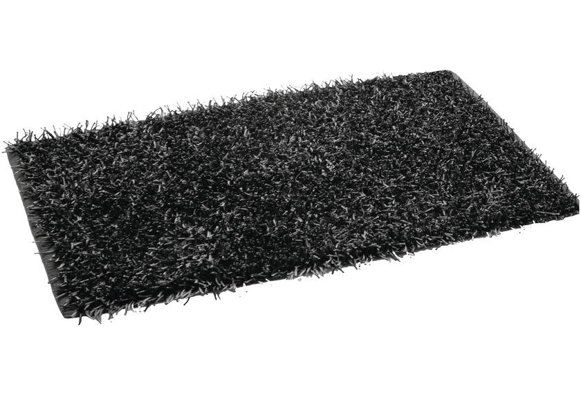 Gözze Allzweckteppich Shaggy Farbe schwarz