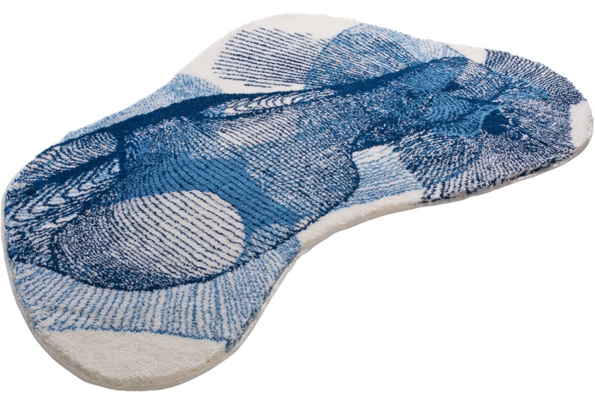 GRUND Badteppich KARIM RASHID Concept 27 202 blau