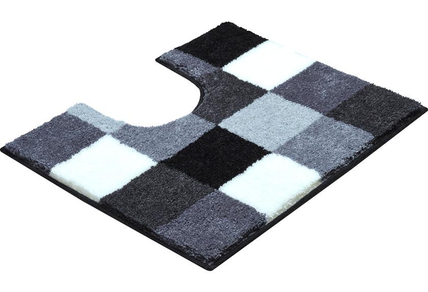 badteppich grau grund badteppich ammona grau badematte badvorleger badteppich grau luana. Black Bedroom Furniture Sets. Home Design Ideas