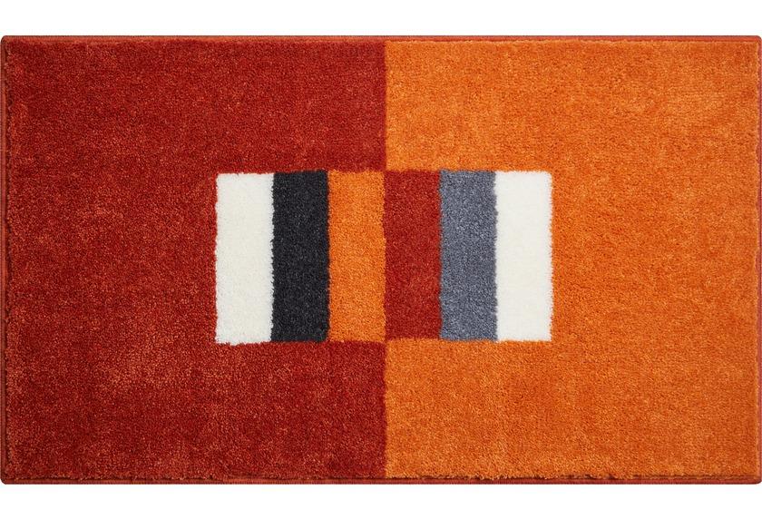 grund badteppich linea due capricio orange ebay. Black Bedroom Furniture Sets. Home Design Ideas