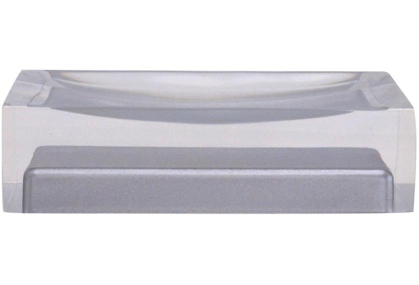 GRUND Seifenablage CUBE, grau 11x7x3 cm