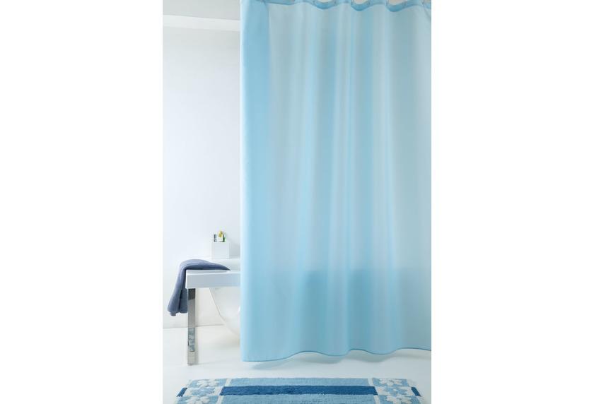 GRUND Duschvorhang Impressa blau