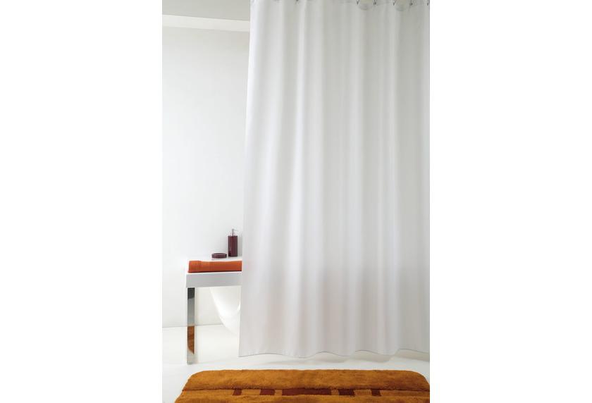 GRUND Duschvorhang Impressa weiß