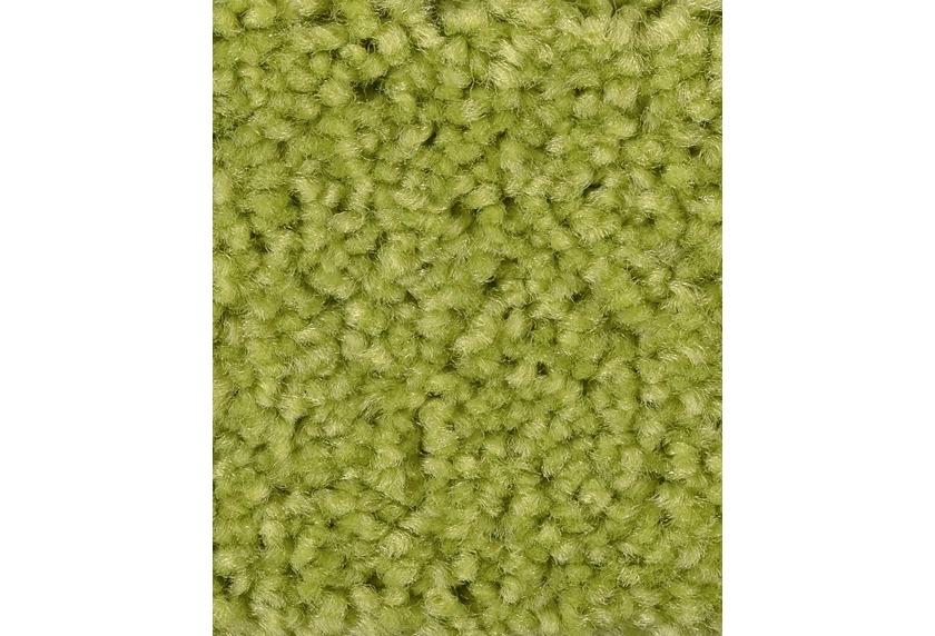 Hometrend PAMIRA/PRISCILLA Teppichboden, Hochflor Velours, gelbgrün