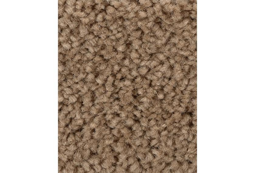 Unterschiedlich Hometrend Teppichboden Meterware Hochflor Velours Hellbraun  TF69